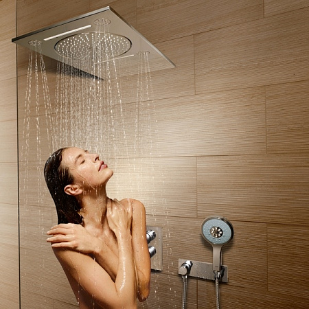 Фото — Верхний душ Grohe Rainshower F-series 27938001 GROHE